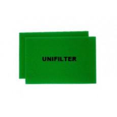유니필터 에어크리너 리필용 여과재(Uni Air Filter Filter-Foam)[대우자동차용] - 4(2*2)개(원조습윤식필터, 유사품 주의!!)