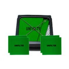 유니필터 에어크리너 셋트(Uni Air Filter SET)[기아자동차용] - 유니필터 1개 + 리필여과재(Filter-Foam) 4(2*2)개(원조습윤식필터, 유사품 주의!!)