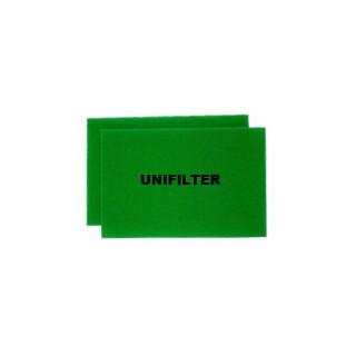 유니필터 에어크리너 리필용 여과제(Uni Air Filter Filter-Foam)[기아자동차용] - 4(2*2)개(원조습윤식필터, 유사품 주의!!)