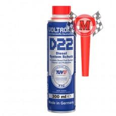 [볼트로닉 Voltronic]  D22 디젤 연료라인 세정제 - Diesel Fuel System Protect - 300ml