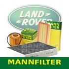 LandRover 만필터 (오일필터,에어필터,에어컨필터)